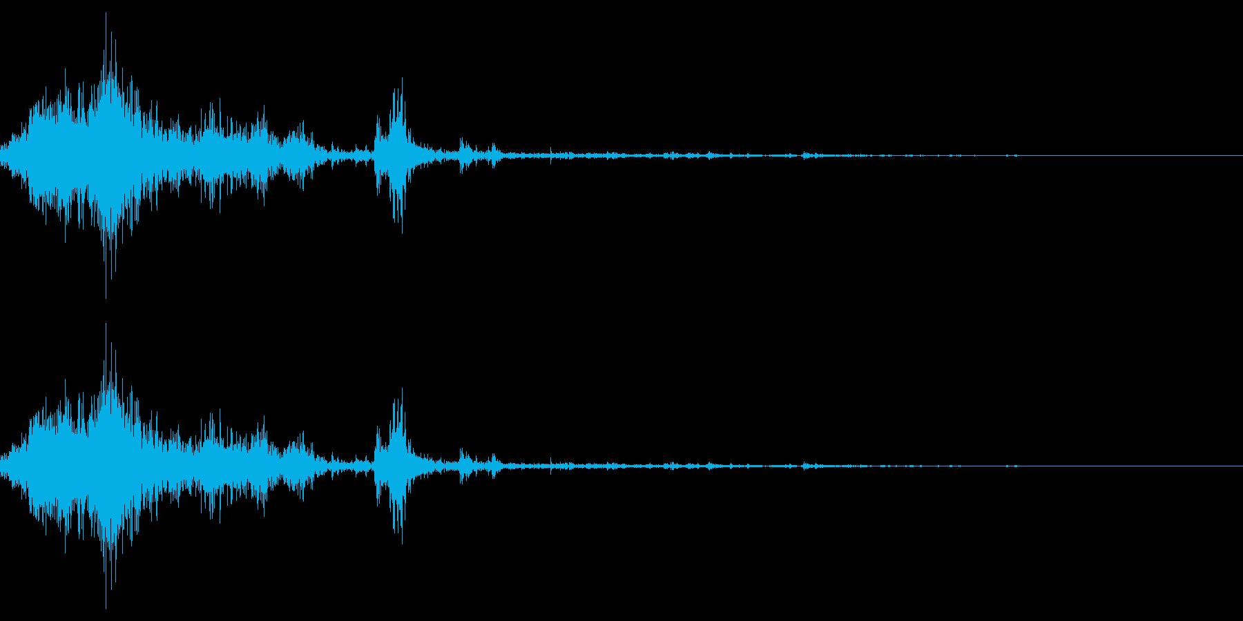 雪かきの効果音 09の再生済みの波形