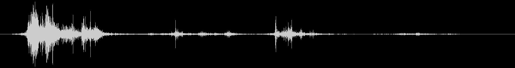 ヘビーブランケット:大きなフラッピ...の未再生の波形