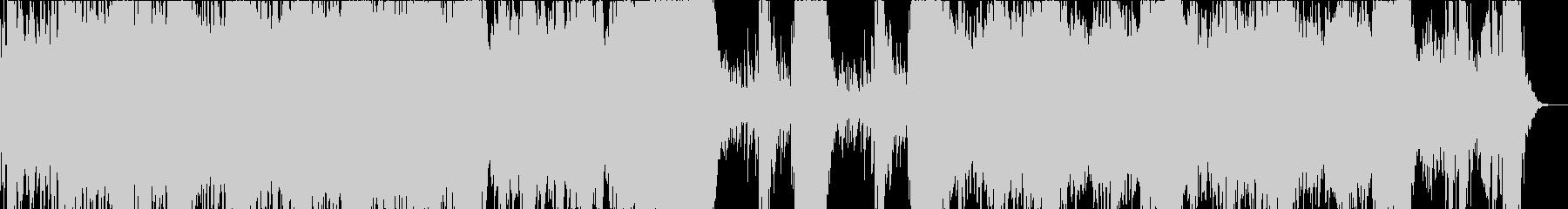 幻想的で緊張感のあるエピックオーケストラの未再生の波形