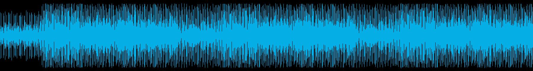 かわいい ポップ コミカルな曲の再生済みの波形