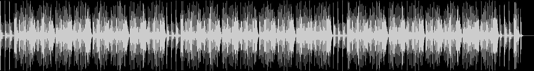 リコーダーが可愛いお正月曲「一月一日」の未再生の波形