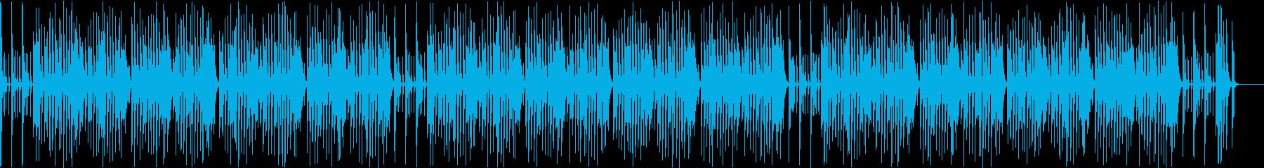 リコーダーが可愛いお正月曲「一月一日」の再生済みの波形