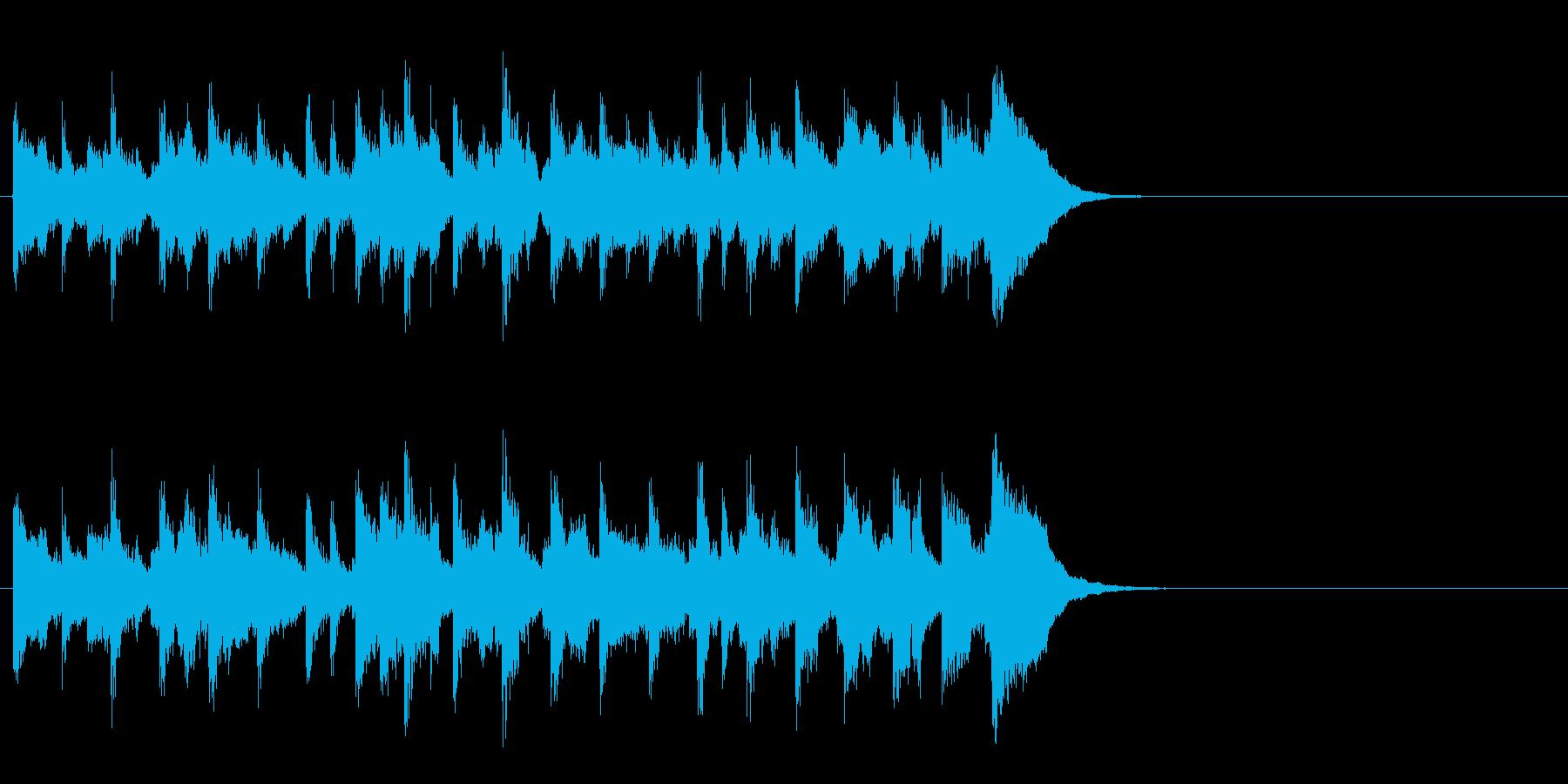 充実したゆったりポップ(Bメロ)の再生済みの波形
