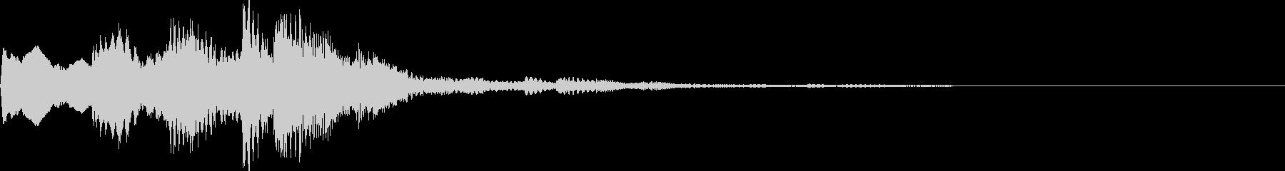 キララン(一時停止・ストップ・止まる)の未再生の波形