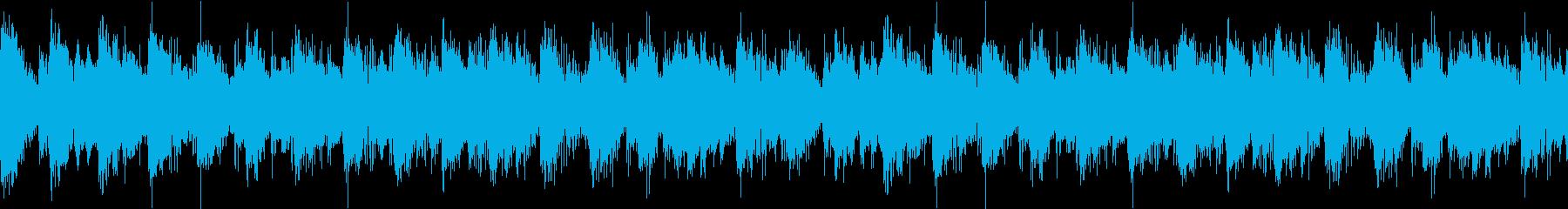 【ループB】シリアスでクールなテクノの再生済みの波形