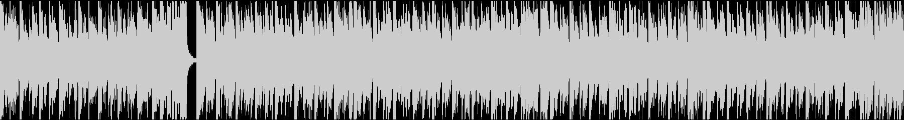 13秒でサビ、電子音ダーク/ループの未再生の波形