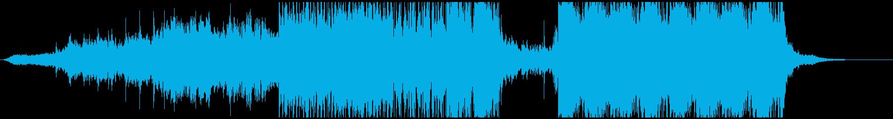 アラビアっぽいepic系インストの再生済みの波形