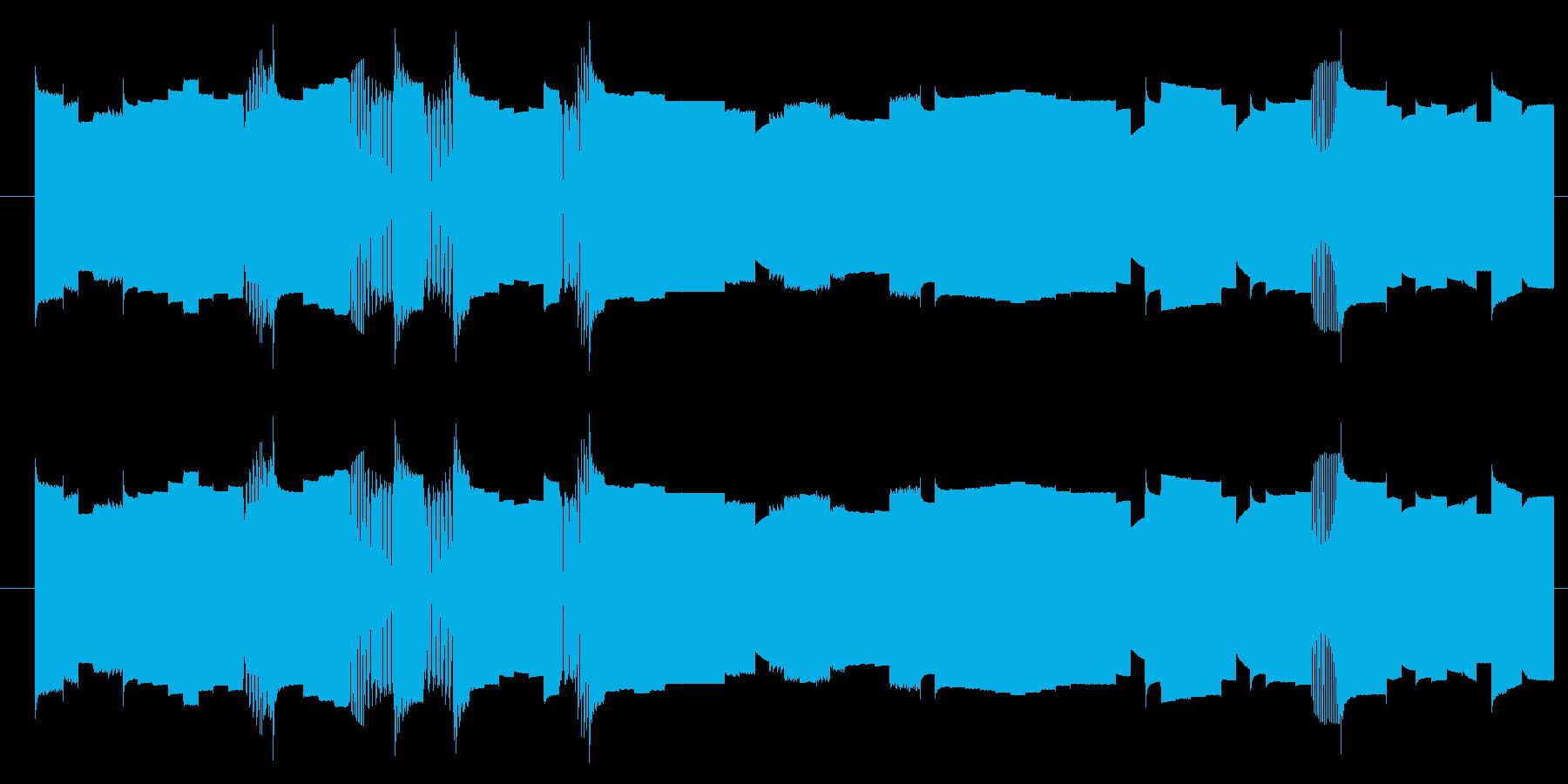 機械 カオスサインディストーション02の再生済みの波形