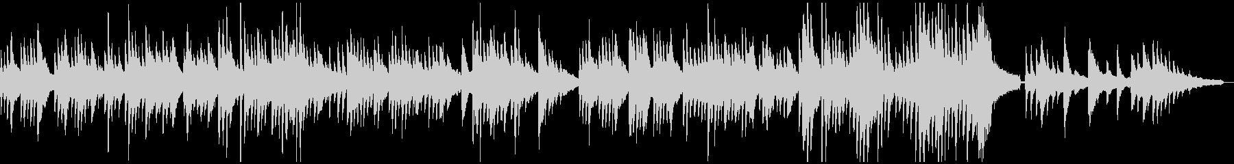 ダニーボーイ ピアノソロの未再生の波形