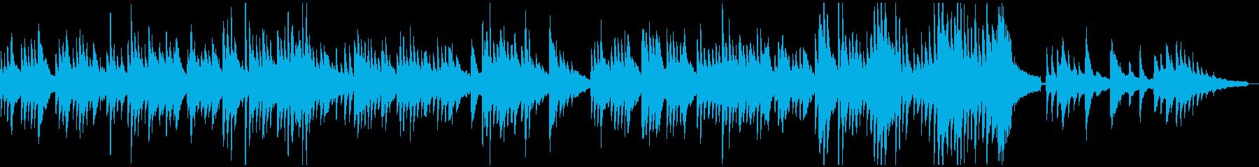 ダニーボーイ ピアノソロの再生済みの波形