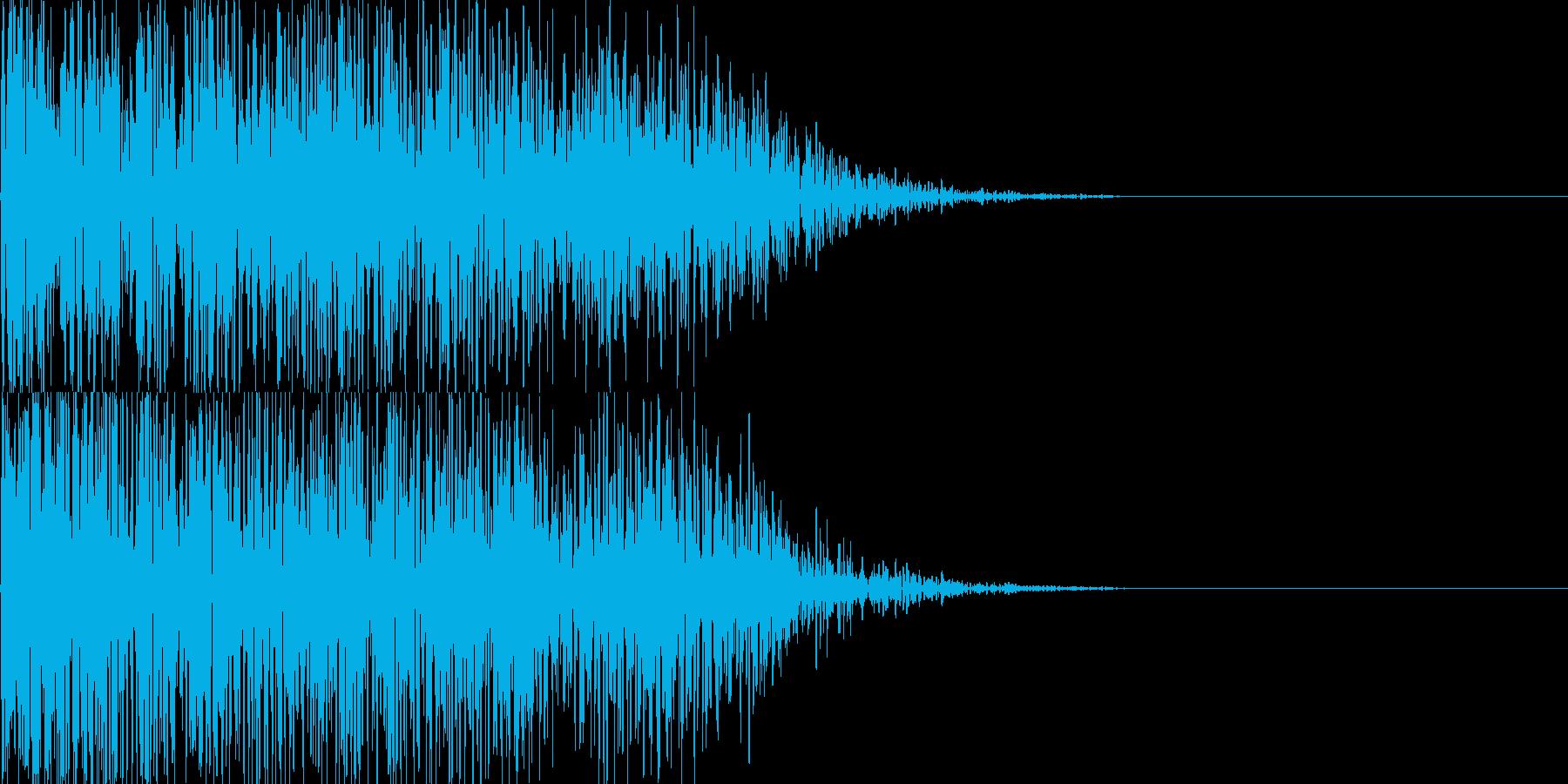 ドーン映画予告タイトル風/インパクト03の再生済みの波形