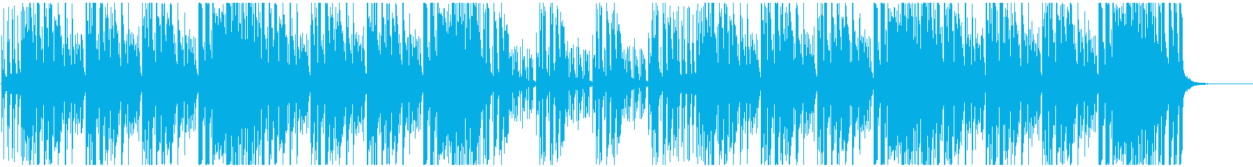 エレピとリズムのんの再生済みの波形