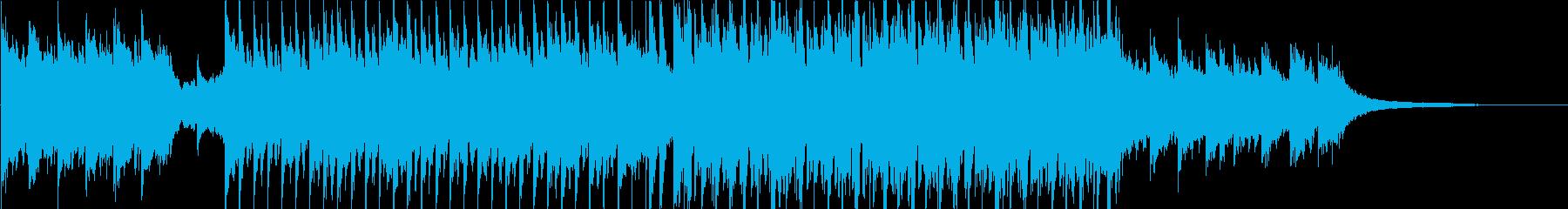 前向きなイメージのオープニング③の再生済みの波形