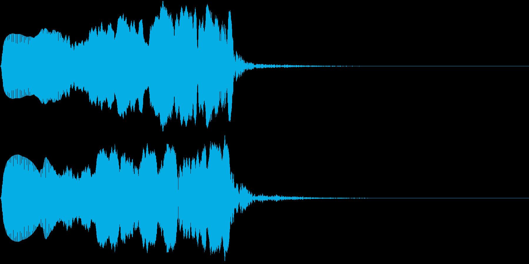 TVFX 「?」の効果音 はてな 1の再生済みの波形