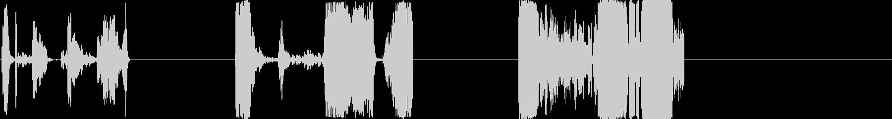 DJループX3の未再生の波形