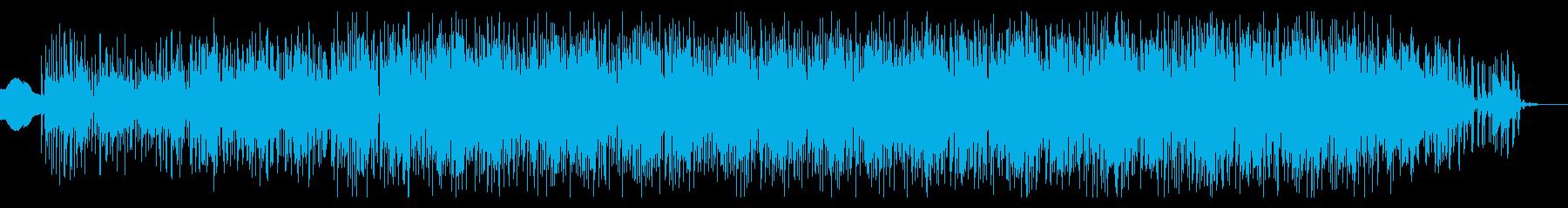 アメリカ南部風のスワンプロックジャムの再生済みの波形