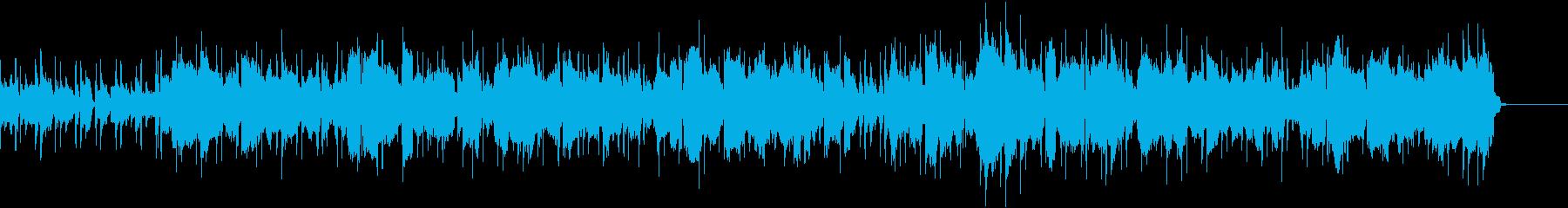 フルート奏でるボサノバナンバーの再生済みの波形