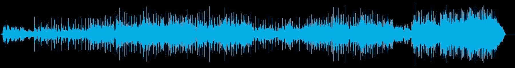 パイプオルガンがロマンチックなバラードの再生済みの波形