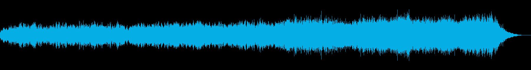 浮遊感がある不思議なメロディーの再生済みの波形