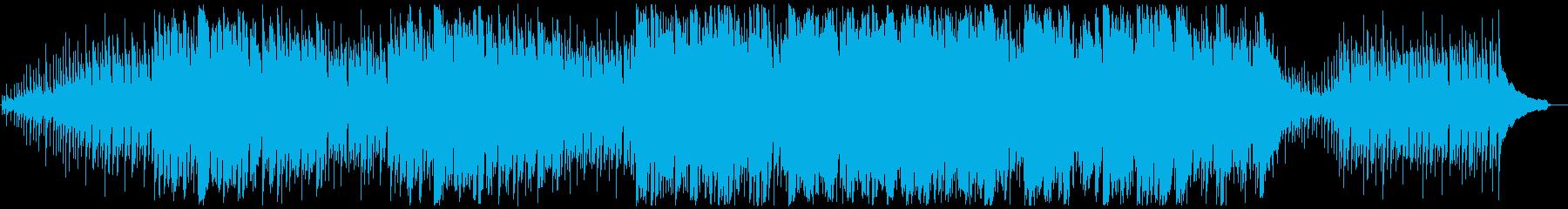 森・神秘系フィールド曲(ループ) の再生済みの波形