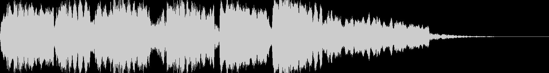 尺八をことのアルペジオでの未再生の波形