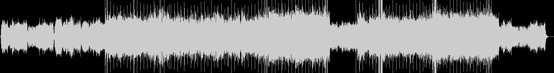 感動的ストリングス ハードロックバラードの未再生の波形