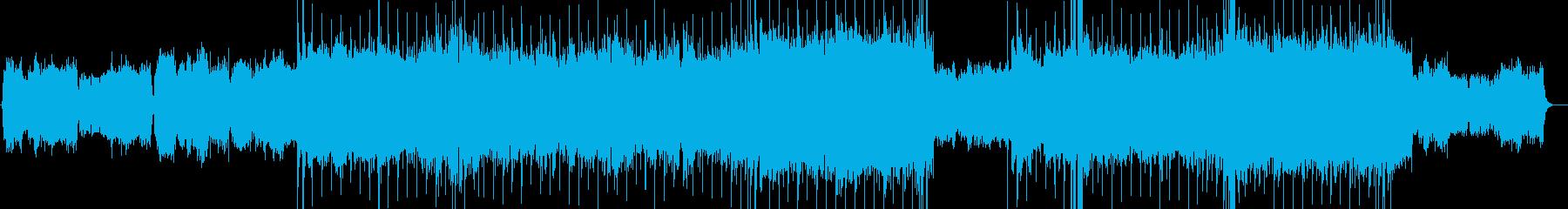 感動的ストリングス ハードロックバラードの再生済みの波形