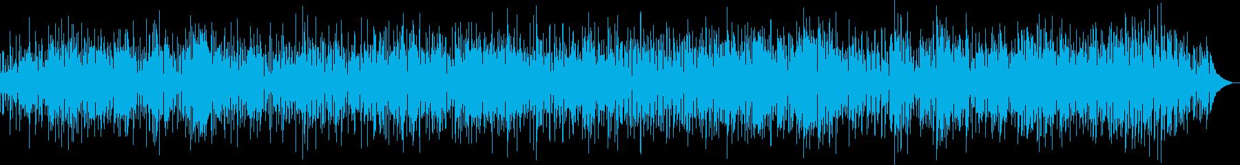 爽やかに元気を表現するファンク・ロックの再生済みの波形