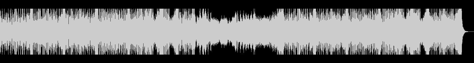 スリリングなストリングスベースの楽曲の未再生の波形