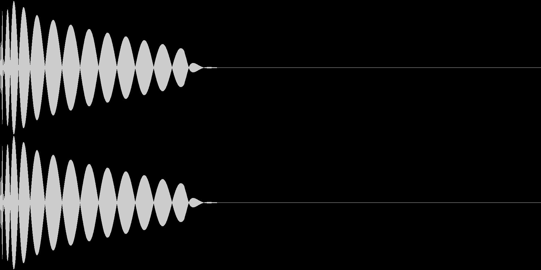DTM Kick 37 オリジナル音源の未再生の波形