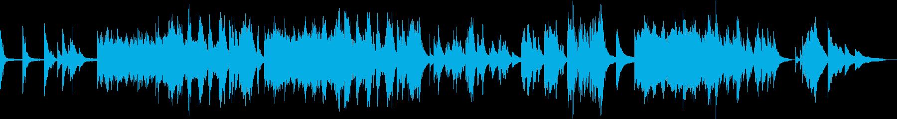 感動的な場面で使えるピアノバラードの再生済みの波形