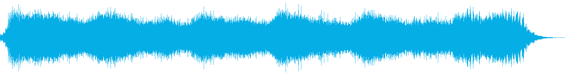 広大な宇宙空間を描写の再生済みの波形