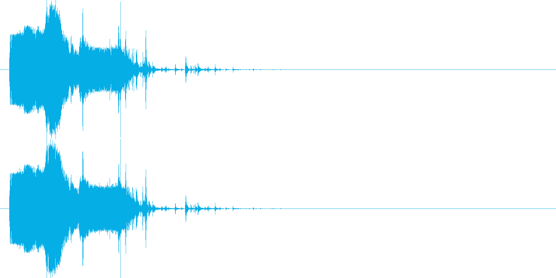 斬撃:武器を突き立てる2の再生済みの波形