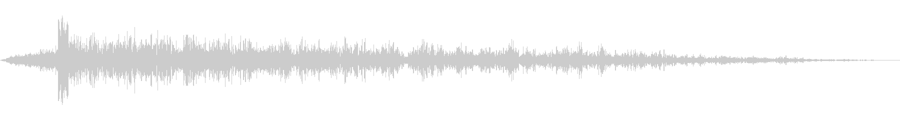 ブーミングランブルリングスイープ2の未再生の波形