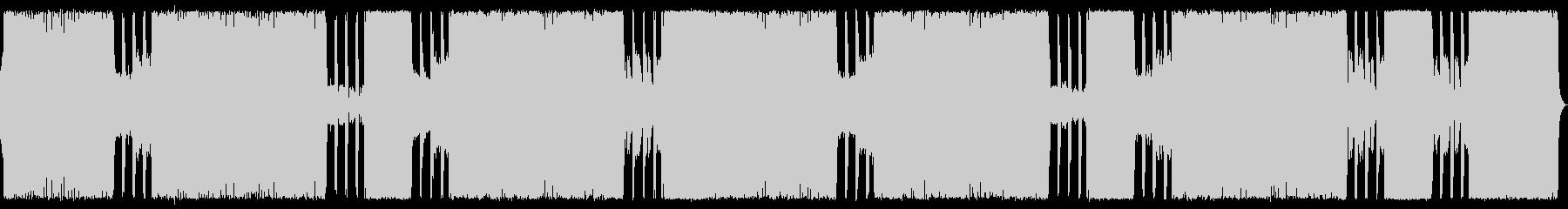 ゴシックメタルな戦闘BGMの未再生の波形