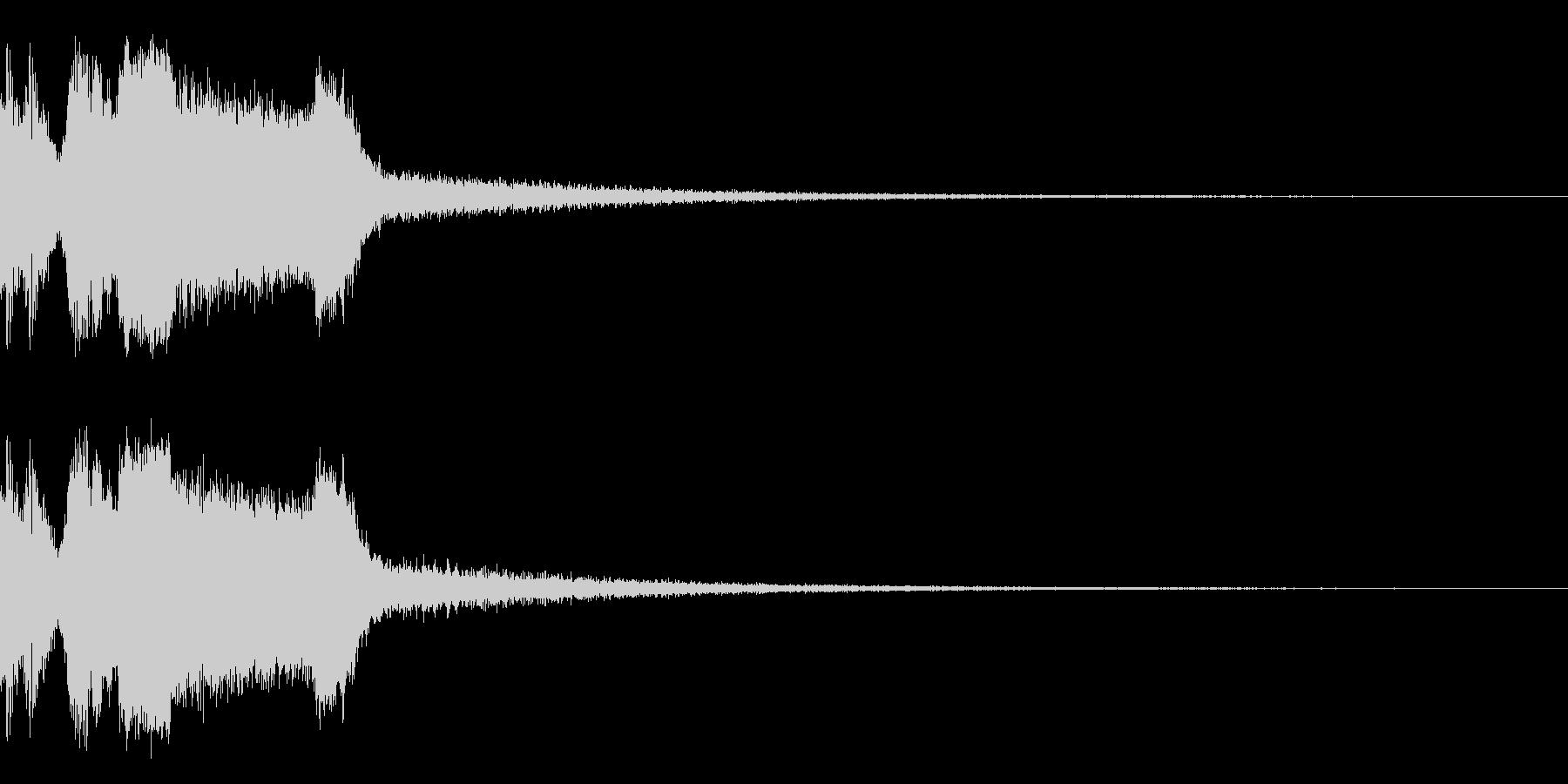 DJFX ヒットチャート発表前SE 14の未再生の波形