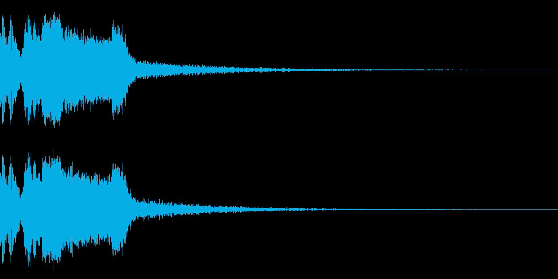 DJFX ヒットチャート発表前SE 14の再生済みの波形