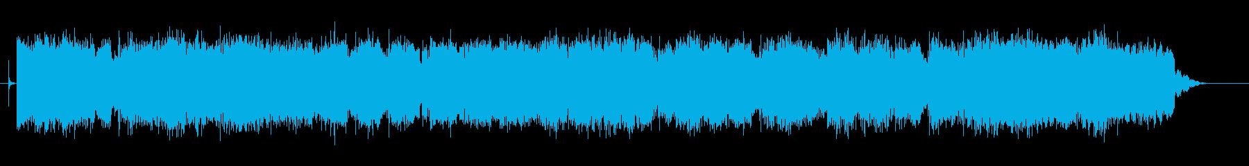 ノスタルジックな中国風BGM2の再生済みの波形