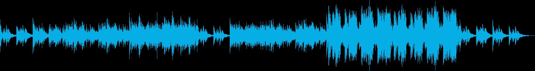 浮遊感漂う切ないピアノアンビエントの再生済みの波形