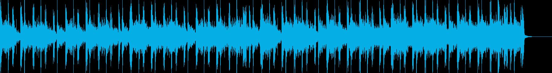 穏やかなヒップホップの再生済みの波形