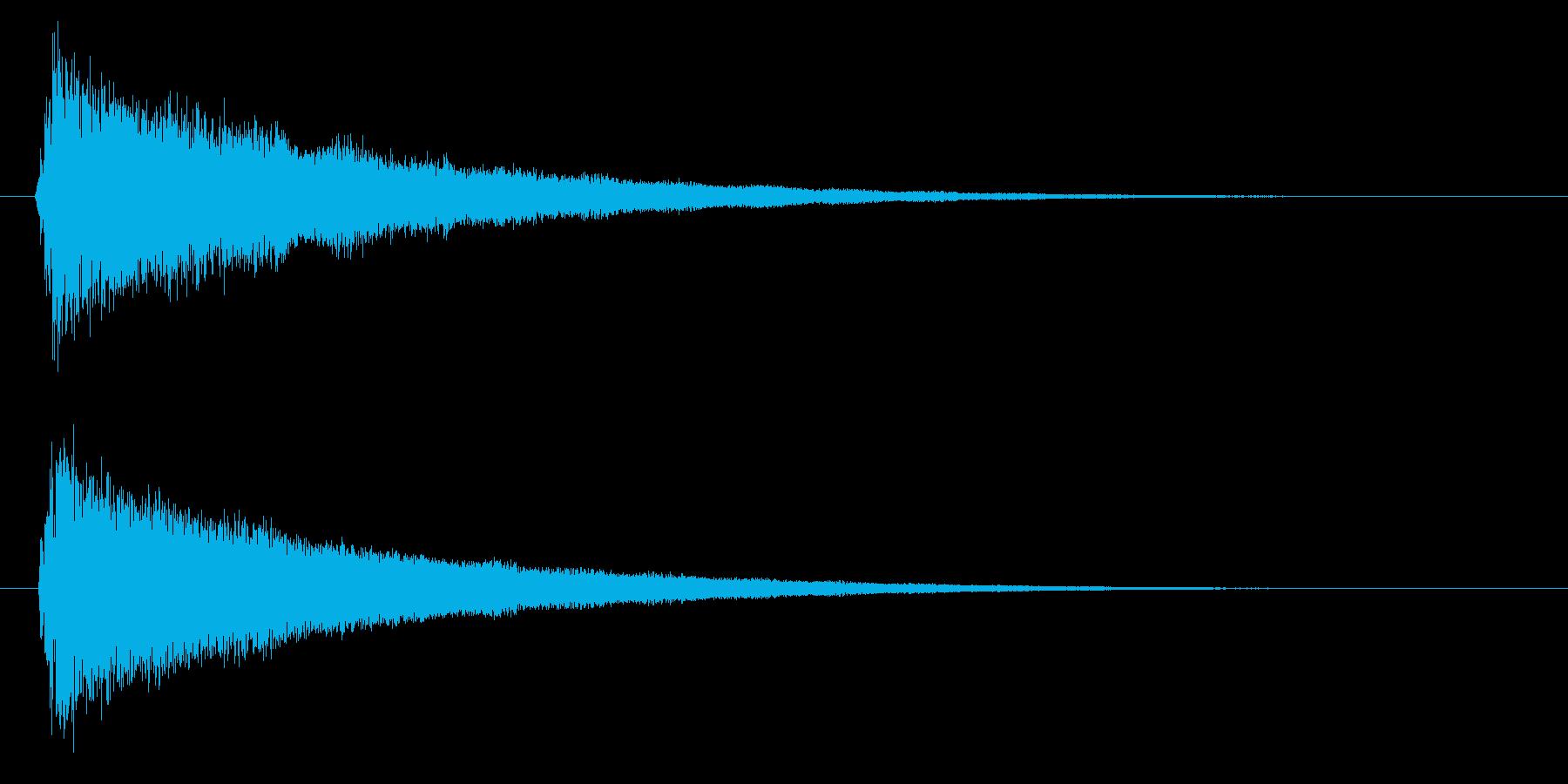 バリア/魔法/防御の再生済みの波形