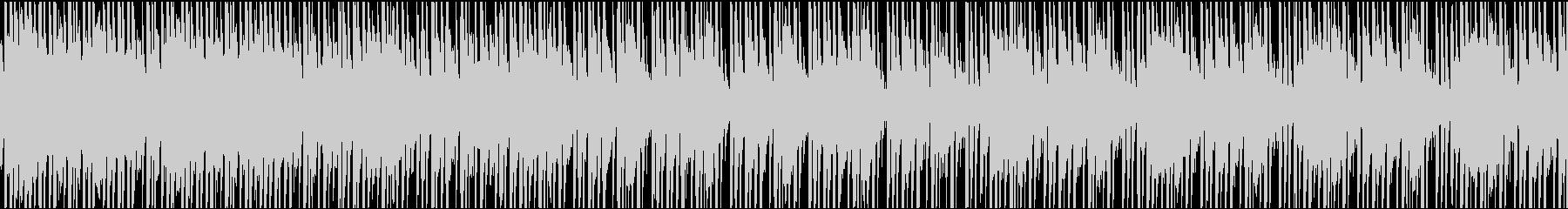 明るい日常ゲームのタイトル曲の未再生の波形