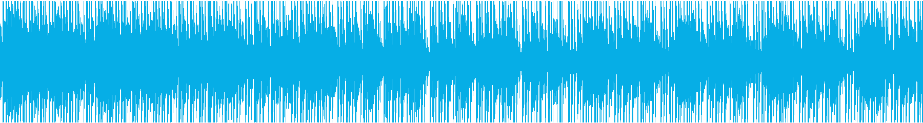 明るい日常ゲームのタイトル曲の再生済みの波形