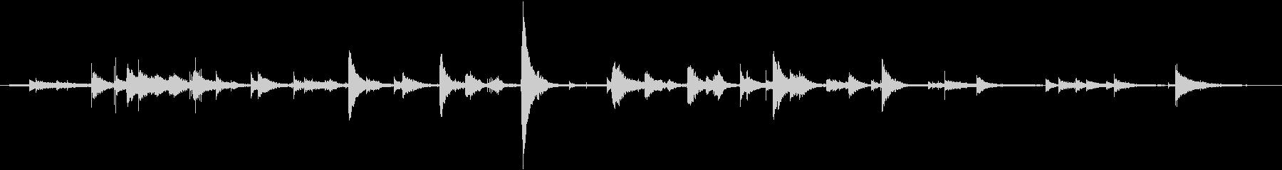 管状ベル風チャイム:常時鳴っている...の未再生の波形