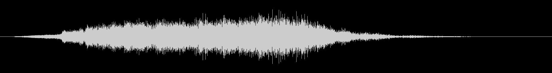 中世 ジングルオーケストラポジティブ02の未再生の波形