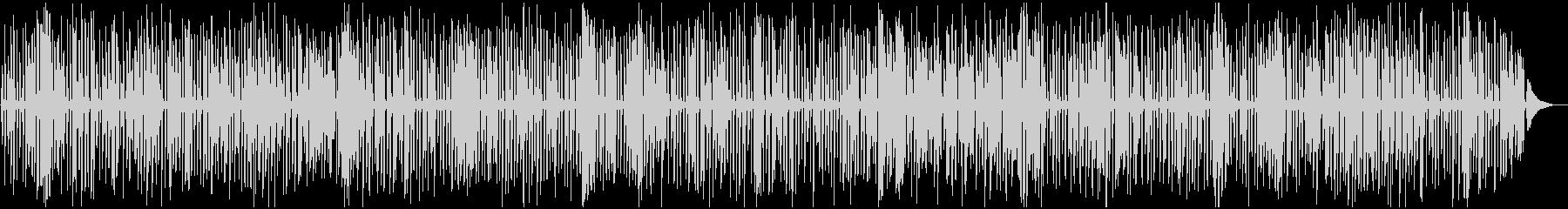 YouTube、楽しいレトロジャズピアノの未再生の波形