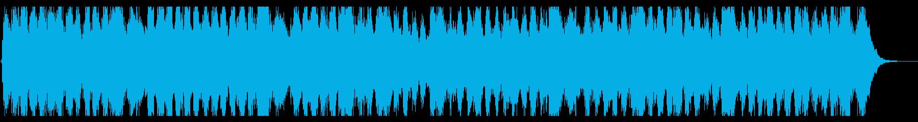 ベートーベン「第九」原曲オケ有名部分の再生済みの波形