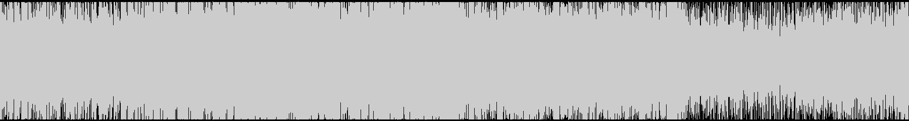 ダークなサスペンスシネマ風サウンドループの未再生の波形