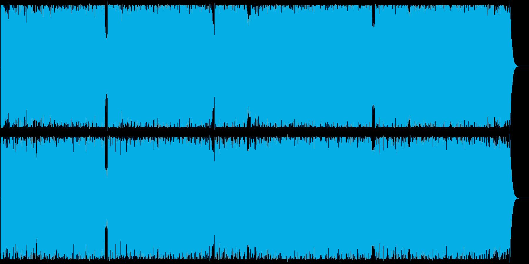 スリリングな爽やかロックの再生済みの波形
