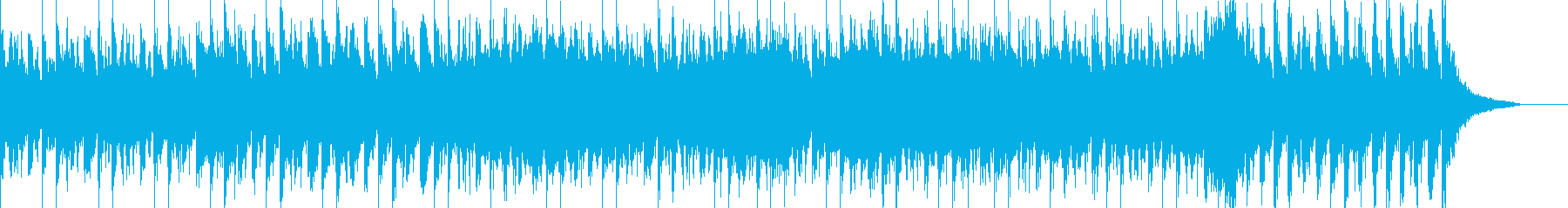 ゲームのラストバトルのような曲の再生済みの波形